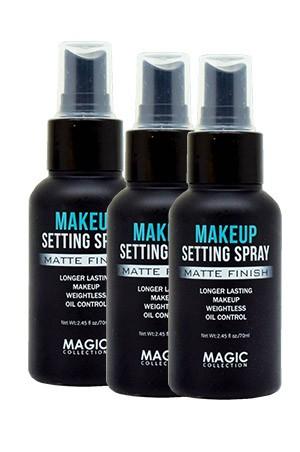[ Magic ] MakeUp Seting Spray_Matte Finish (6pc/ds) #FAC104- ds