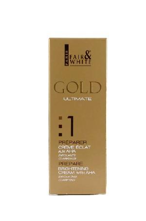 [Fair&White-box#46] Gold 1 Brightening Cream w/AHA (75ml/2.53oz)