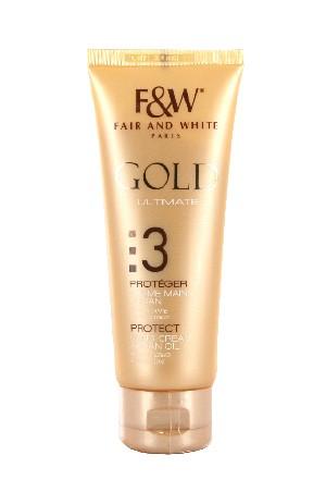 [Fair&White-box#48] Gold 3 Hand Cream with Argan Oil (75ml/2.53oz)