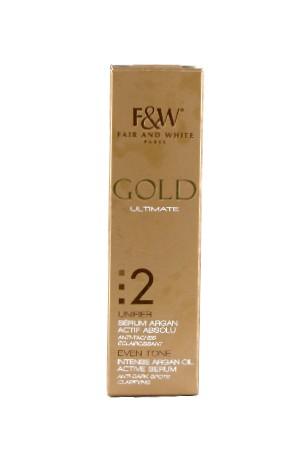 [Fair&White-box#49] Gold 2 Intense Argan Oil Act. Serum (30ml/1oz)