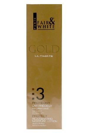 [Fair&White-box#51] Gold 3 Rejuv. Moisture Lotion(500ml/17.6oz)