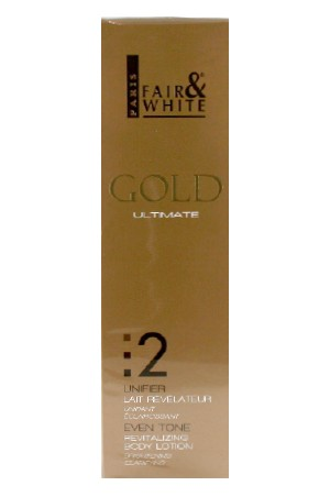 [Fair&White-box#52] Gold 2 Revitalizing Body Lotion(500ml/17.6oz)