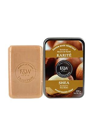 [Fair & White-box#62] Tradition-Shea Soap (200g)
