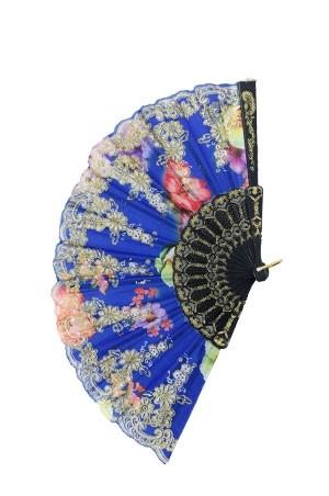Magic Gold Fashion Folding Fan #FAN9 - dz