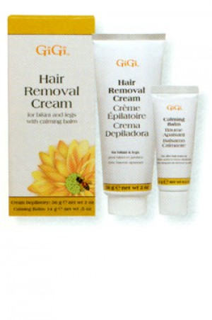 [GiGi-box#20] Hair Removal Cream for Legs & Bikini (2oz & 0.5oz)
