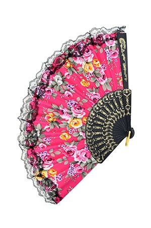 Magic Gold Fashion Folding Fan #6565 - dz