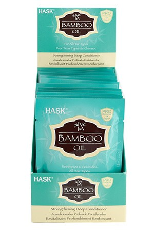[Hask-box#61] Bamboo Oil Strength Deep Conditioner [1.75 oz/12 pk/ ds]