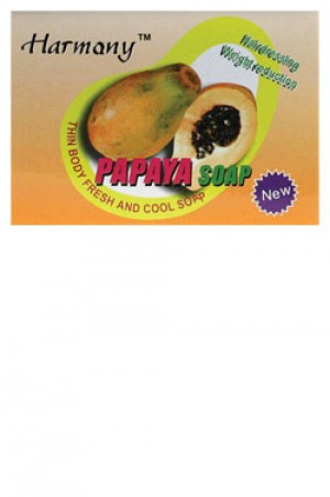 [Hatmany-box#4] Hairdressing Weight Reduction Papaya Soap (100 g)