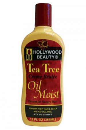 [Hollywood Beauty-box#30] Tea Tree Creme Brulee Oil Moist (12oz)
