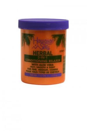 [Hawaiian Silky-box#32] Herbal 3-in-1 Relaxer Jar (7.5oz)
