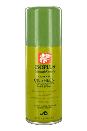 [Isoplus-box#53] Natural Remedy Olive Oil Sheen Hair Spray (2oz)