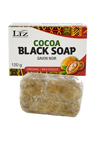 [LIZ Professional-box#8] Cocoa Black Soap (120g)
