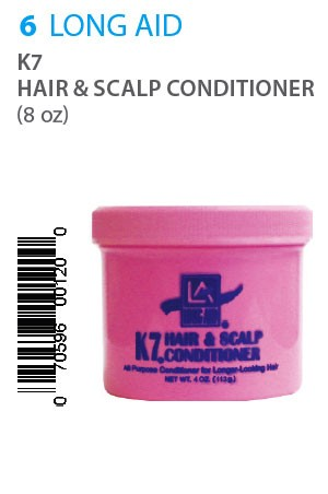 [Long Aid-box#6] K7 Hair & Scalp Cond. (8oz) jar
