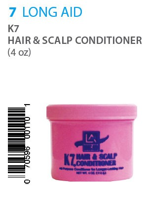 [Long Aid-box#7] K7 Hair & Scalp Cond. (4oz) jar