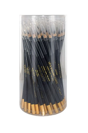 [Magic-#M401] Lip & Eye Liner Long Pencil 72pcs [Black] - jar