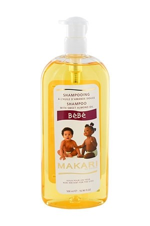 [Makari-box#68] BeBe Sweet Almond Shampoo (16.9 oz)