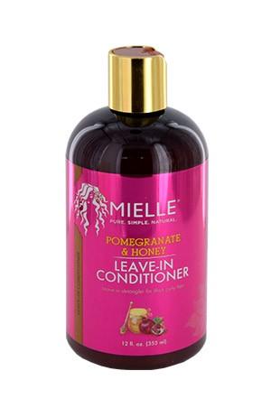 [Mielle Organics-box#10] Pomegranate & Honey Leave In Conditioner (12oz)