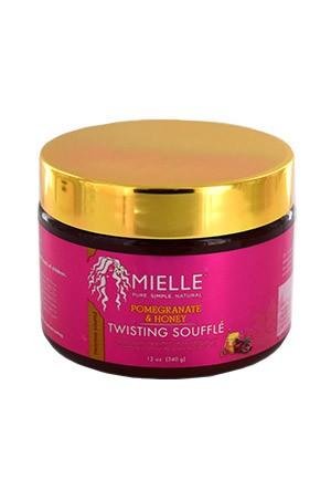 [Mielle Organics-box#9] Pomegranate & Honey Twisting Souffle (12oz)