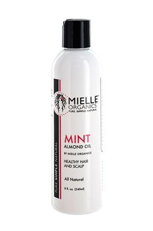 [Mielle Organics-box#4]  Mint Almond Oil (8oz)