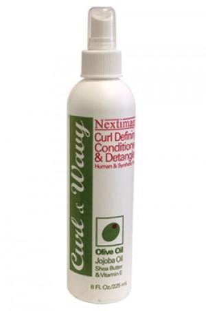 [Nextimage-box#2] Curl & Wavy -Curl Defining Conditioner & Detangler (8oz)