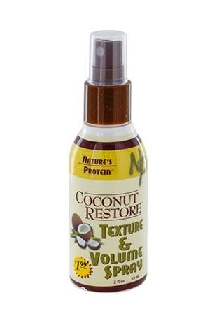 [Nature's Protein-box#13] Coconut Restore Texture&Volume Spray (2 oz)