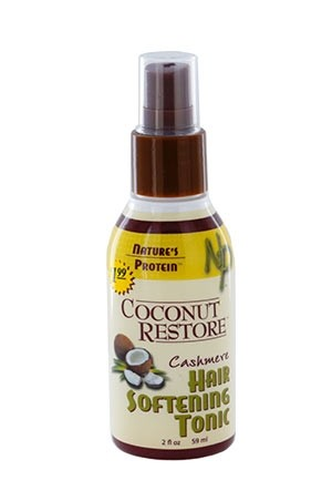 [Nature's Protein-box#14]  Coconut Restore hair Softening Tonic (2 oz)