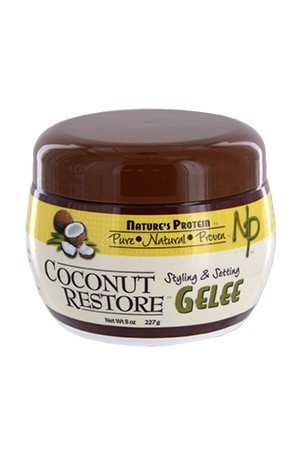 [Nature's Protein-box#1] Coconut Restore Style Gelee (8oz)