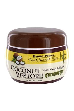 [Nature's Protein-box#3] Coconut Restore Coconut Oil (7oz)