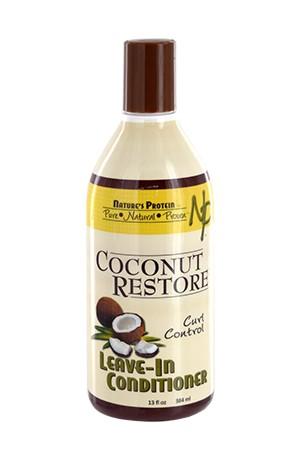 [Nature's Protein-box#6] Coconut Restore Leave In Conditioner(13oz)