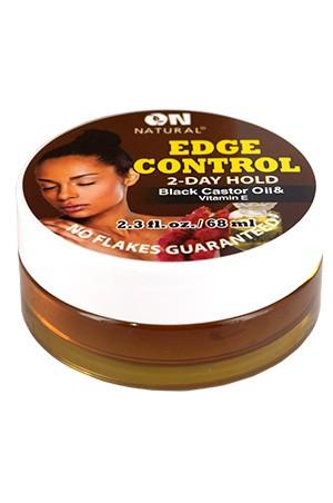 [Nextimage-box#58] ON Black Castor & Vitamin E. Edge Control Hair Gel(2.3oz)