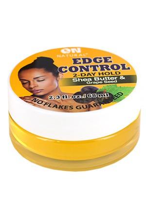 [Nextimage-box#59] ON Grape Seed &Shea Butter Edge Control Hair Gel (2.3 oz)