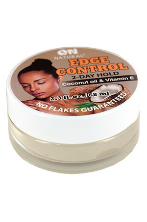 [Nextimage-box#60] ON Coconut Oil & Vitamin E. Edge Control Hair Gel(2.3oz)