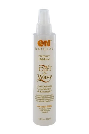 [Nextimage-box#62] ON Natural Coconut Milk Curl-Wavy Detangler (8 oz)