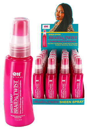 [Nextimage-box#44] ON Sheen Spray-Pomegranate (2oz)