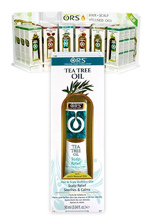 [Organic Root-box#106]  Hair Scalp W Oils Tea Tree Oil (3.4oz)