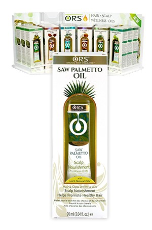 [Organic Root-box#108] Hair Scalp W Oils Saw Palmetto Oil (3.4oz)