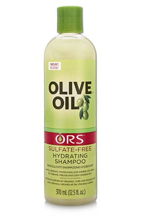 [Organic Root-box#89] Olive Sulfate-Free Hydrating Shampoo (12.5oz)