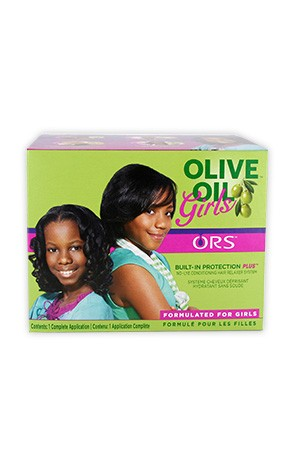[Organic Root-box#50] Olive Oil Girls No-Lye Conditioning Relaxer System (1app)