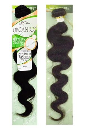 [Organico Brazilian] HH-Natural Body Wave (# Natural Black)