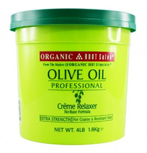 [Organic Root-box#53] Olive Oil Creme Relaxer (4 LB) - Extra Strength