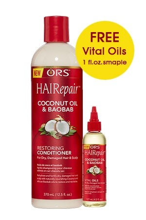 [Organic Root-box#150] HAIRepair Coconut Oil & Baobab Restoring Conditioner (12.5 oz)