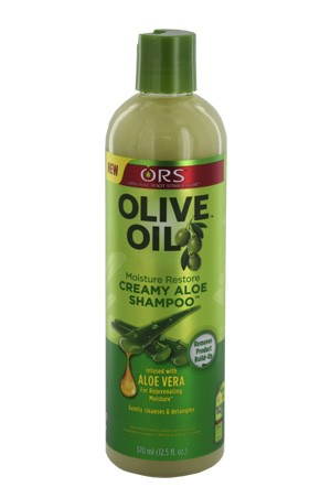 [Organic Root-box#19] Olive Oil Creamy Aloe Shampoo -12.5 oz