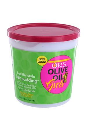 [Organic Root-box#49] Olive Oil Girls Hair Pudding (13oz)