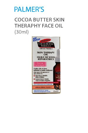 [Palmer's-box#116] Cocoa Butter Skin Therapy Face Oil (30ml)