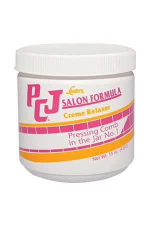 [PCJ-box#15] Creme Relaxer Pressing Comb In Jar (15 oz)