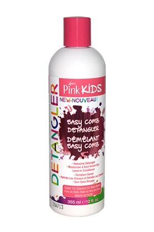 [Pink-box#69] Pink Kids Easy Comb Detangler (12oz)