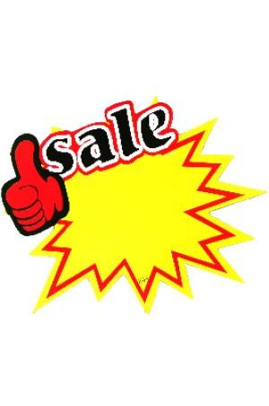 [#2646] POP Price Tags (Sale-01) -10pcs/Pk