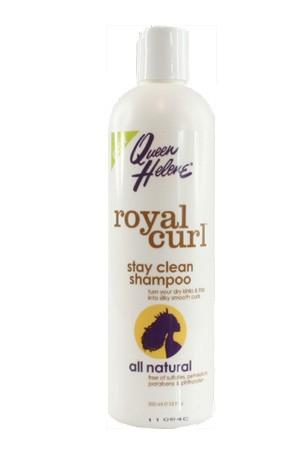 [Queen Helene-box#61] Royal Curl Stay Clean Shampoo (12 oz)