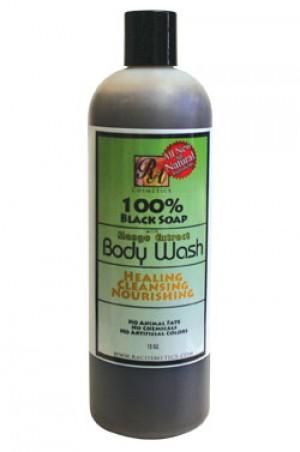 [RA Cosmetics-box#22] 100% Black Soap Mango Extract Body Wash (13oz)