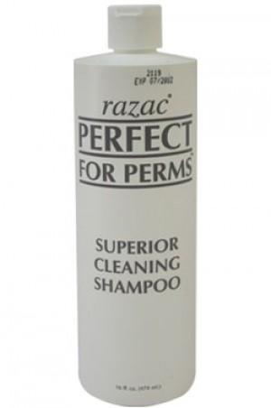 [Razac-box#6] Perfect for Perms Superior Cleansing Shampoo (16oz)